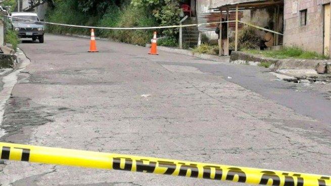 Asesinan a un hombre en la colonia Escalante de Mejicanos