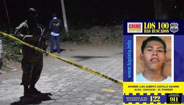 PNC captura a dos pandilleros luego que asesinaran a una adolescente en Moncagua