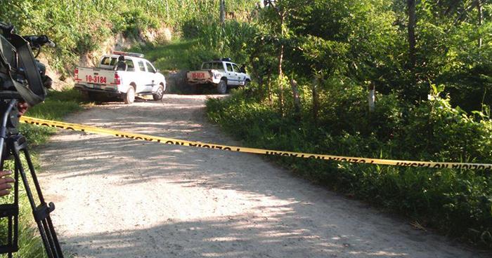 Pandilleros salen al paso de vigilante y lo matan de varios balazos en San Pedro Perulapán