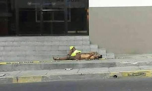 Asesinan a un anciano frente al excine Universal en el centro de San Salvador