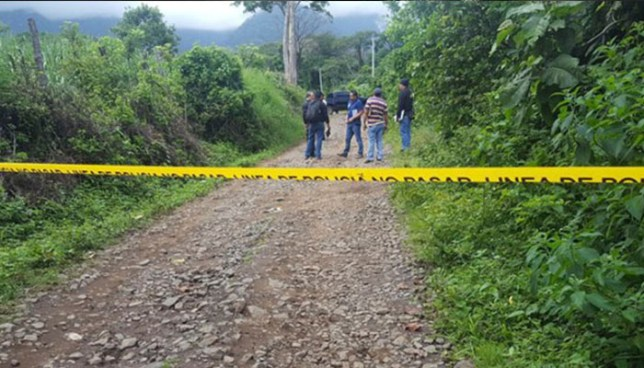 Hombre es asesinado a balazos  en San Sebastián Salitrillo, Santa Ana