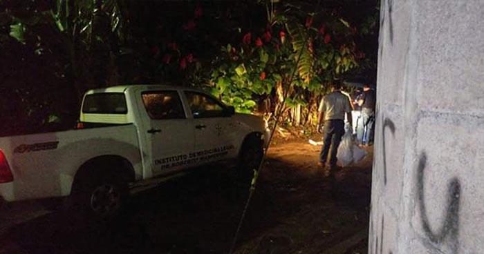 Albañil es asesinado a balazos en colonia Los Pinos de Tacuba, Ahuachapán