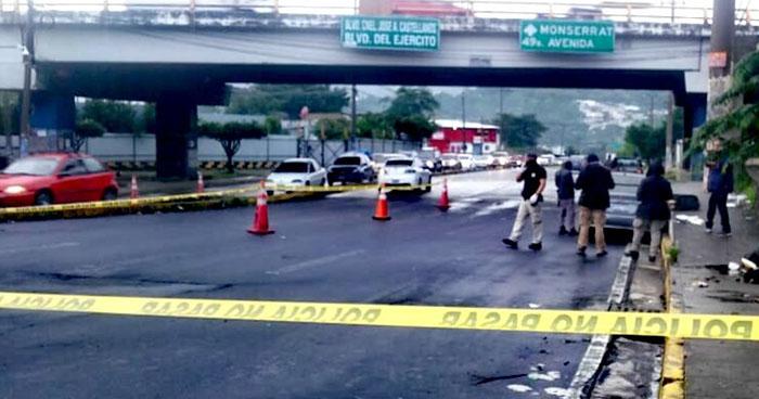 Asesinan a conductor de Uber en la 25 avenida sur de San Salvador