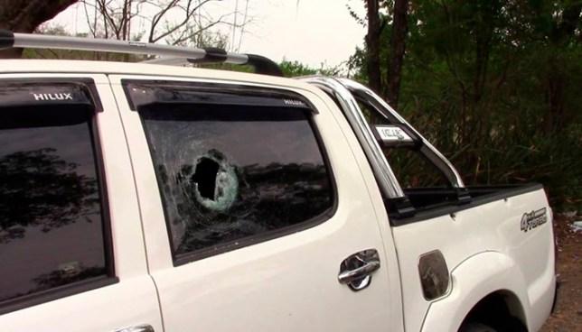Sicarios ametrallan un vehículo y asesinan a su ocupante en Anamoros, La Unión