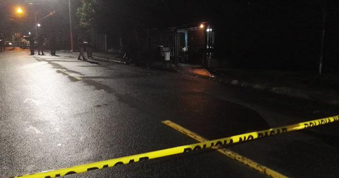 Un hombre fue asesinado la noche de este Martes en Apopa