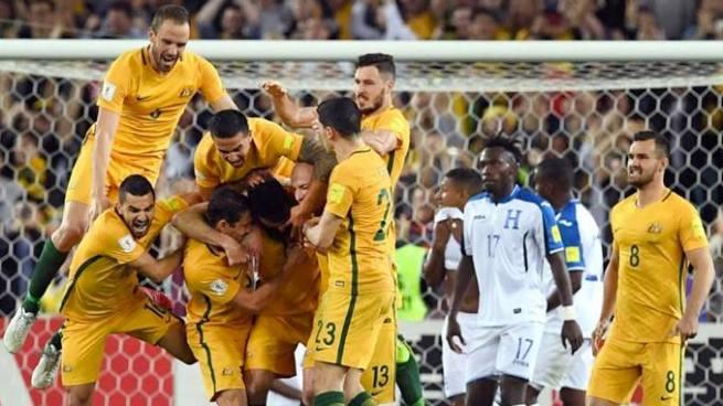 Honduras cae ante Australia y quedó eliminada del Mundial Rusia 2018