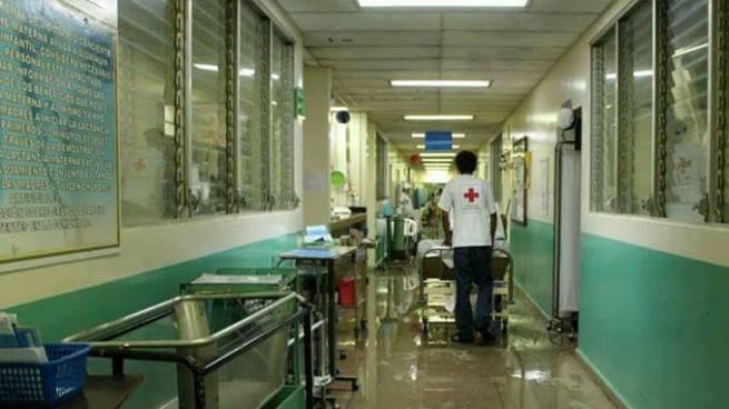 Fuertes lluvias causan estragos en un hospital de Usulután