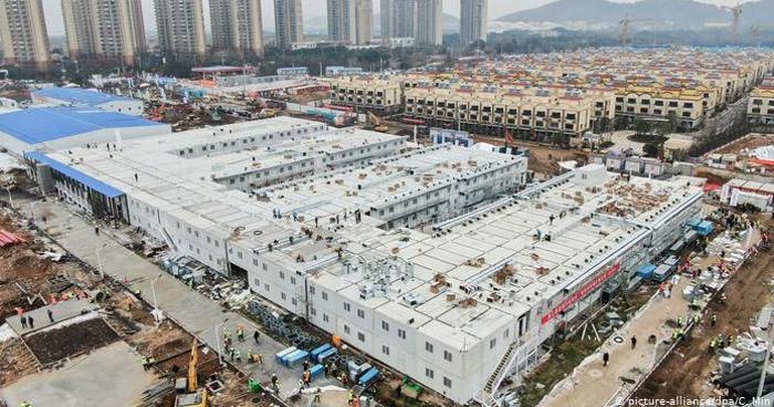 """Entregan hospital construido en 10 días para tratar """"Coronavirus"""" en Wuhan"""