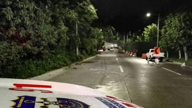 Encuentran cadáver atado de manos y pies en calle a Huizúcar