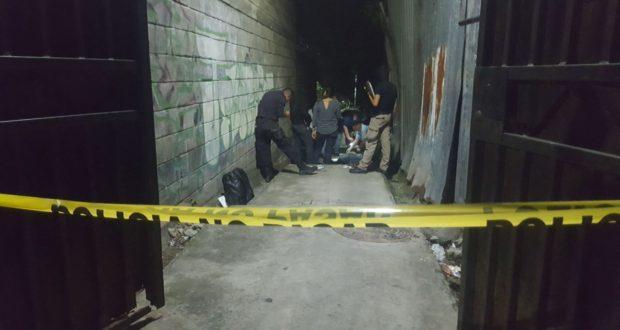 Matan a balazos a un hombre en la comunidad Tineti de San Salvador