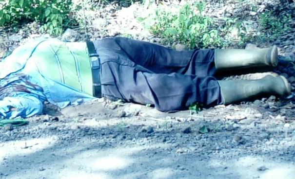 Agricultor es asesinado por el novio pandillero de su hija en Jucuaran