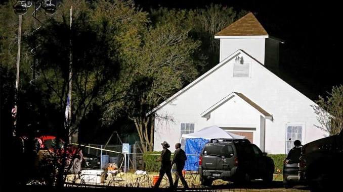 Demolerán iglesia donde ocurrió el tiroteo en Texas (+videos y fotos)