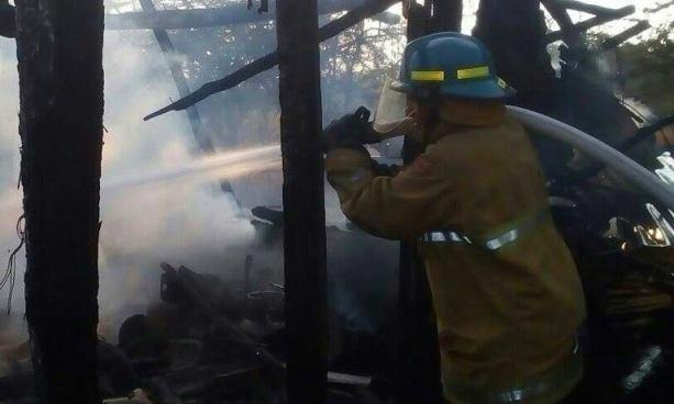 Niño de tres años incendio su casa tras jugar con una caja de fósforos en Pasaquina