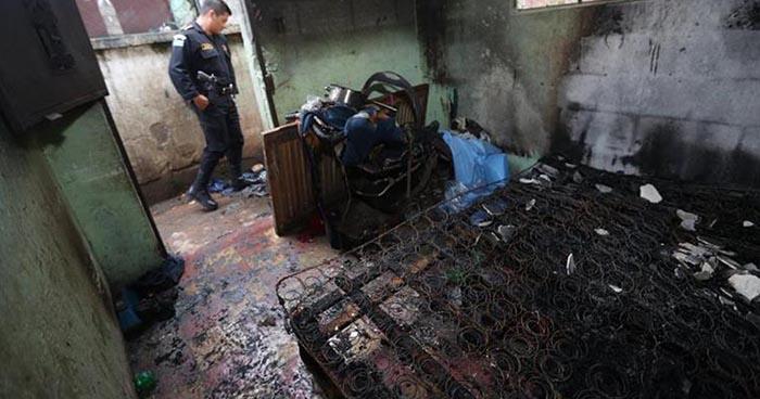 Bebé de ocho meses de edad muere en incendio de una vivienda en Guatemala