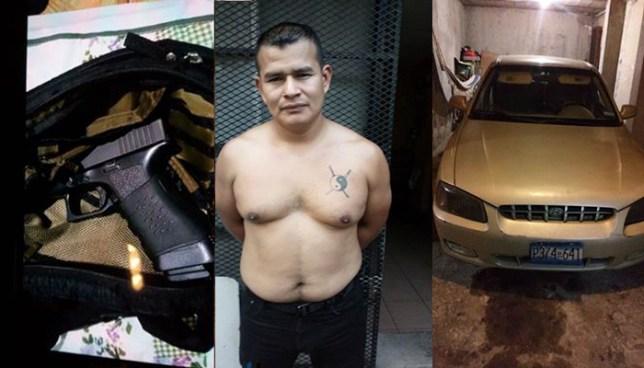 Capturan a agente del CAM que mató a un conductor tras pelear la vía en San Salvador