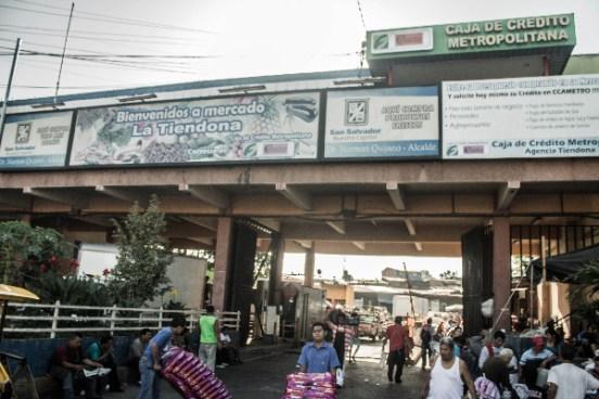 Mercado la Tiendona sera trasladado a la zona norte de San Salvador