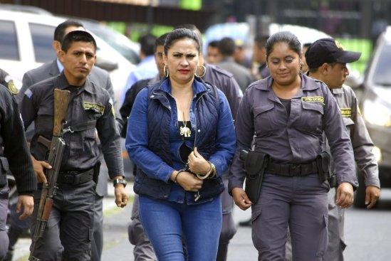 La patrona se burla de autoridades Guatemaltecas