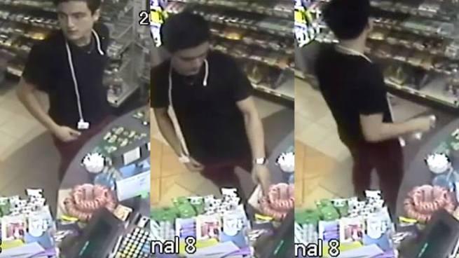 Captan a sujeto que hurtó una cartera en una gasolinera de la capital