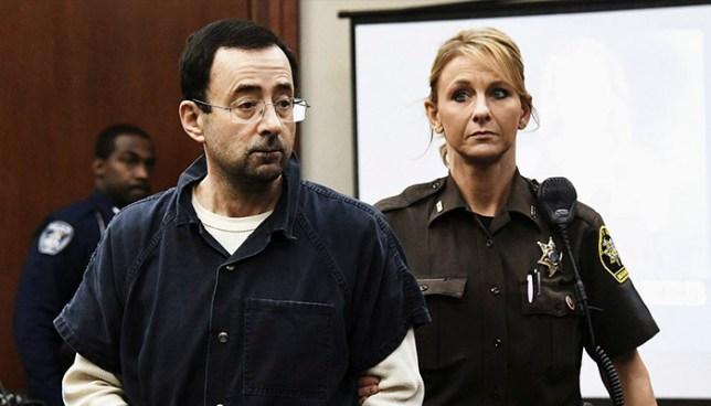 Condenan a 175 años de prisión a Larry Nassar, médico que abusó de más de 150 gimnastas de EE.UU