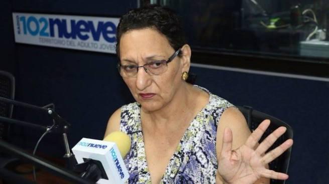 Diputada Peña responsabiliza a ARENA de la situación en la que se encuentra la PNC