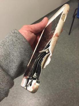 El iPhone le salvo la vida en el atentado de Manchester