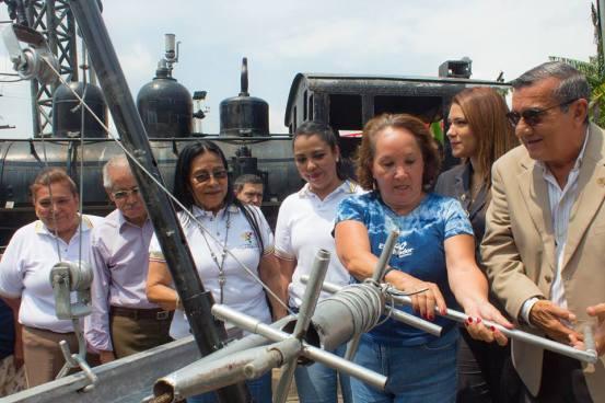 MITUR inicia la primera fase del Monumento al ferrocarril en Sonsonate