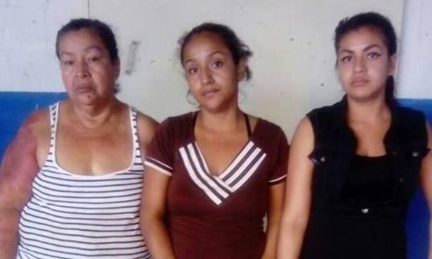 Capturan en San Salvador a madre e hijas acusadas de colaborar para una pandilla