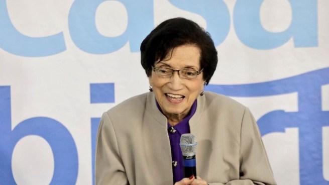 La exministra de salud María Isabel Rodríguez cumplió 95 años hoy