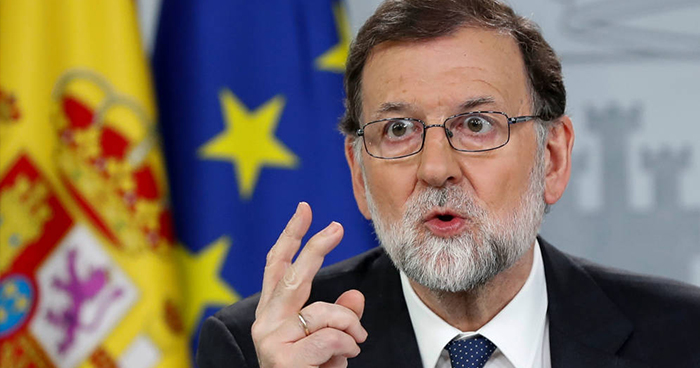 Mariano Rajoy es destituido como presidente de España