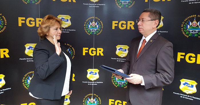 Douglas Meléndez nombra a nueva Fiscal General Adjunta