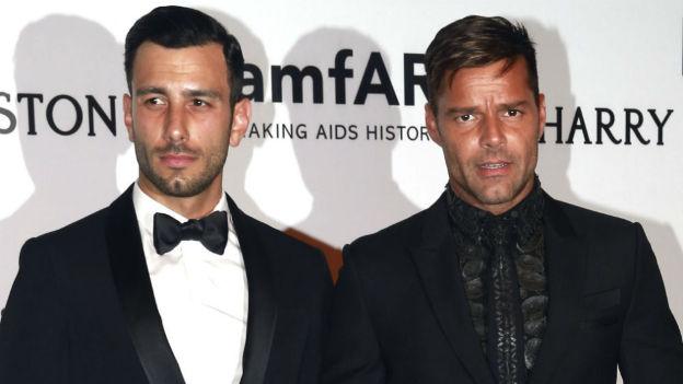"""Ricky Martin anunció que se quiere casar """"a lo grande"""" en Puerto Rico"""
