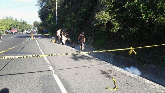 PNC encuentra un cadáver en San Martín