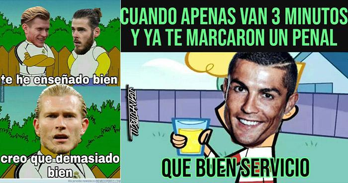 Los mejores memes del partido entre España y Portugal