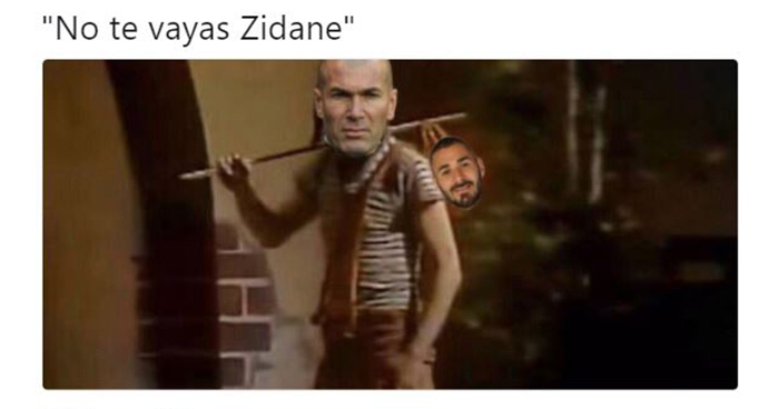 Los memes tras la salida de Zidane del Real Madrid