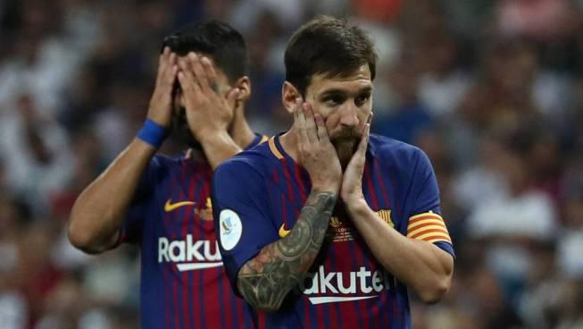 El Barcelona informa erróneamente sobre la salida de Messi