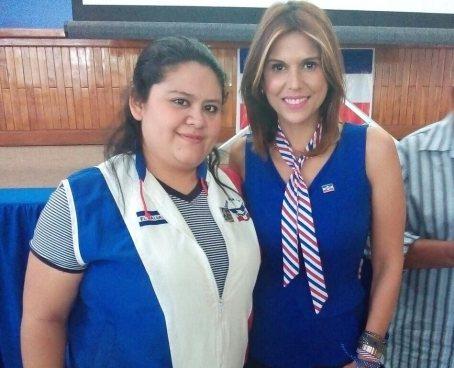 La expresentadora de TV Milena Mayorga ya esta inscrita para buscar ser diputada