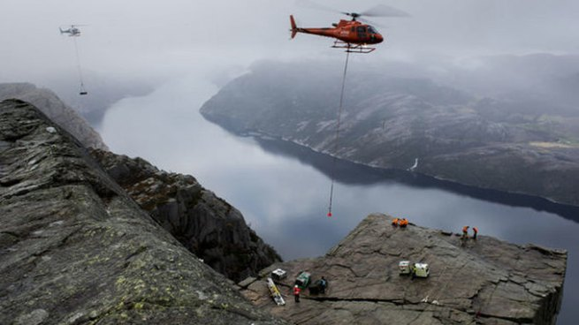 Rodaje de 'Misión imposible 6' tendrá locaciones en el sitio turístico más famoso de Noruega