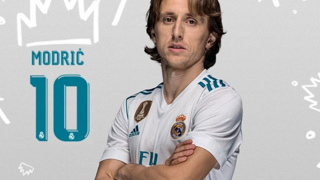 Modric hereda el 10 de James