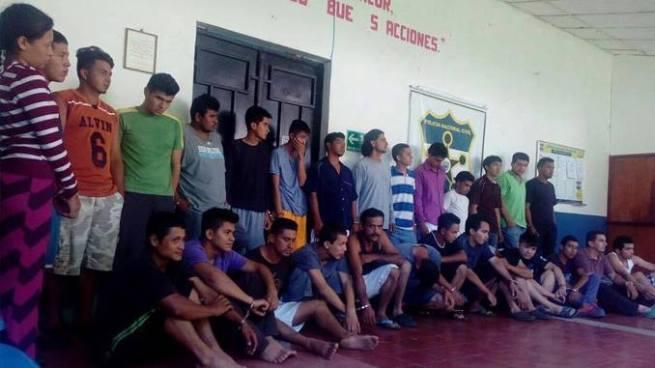 Capturan a pandilleros que se dedicaban a extorsionar a varios comerciantes en Osicala, Morazán