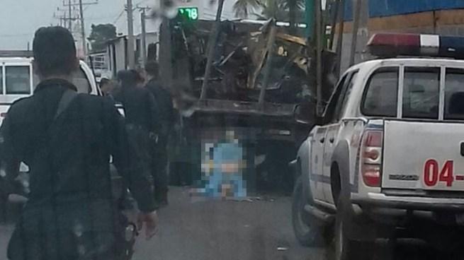 Muere motociclista tras sufrir accidente de tránsito en carretera a Sonsonate