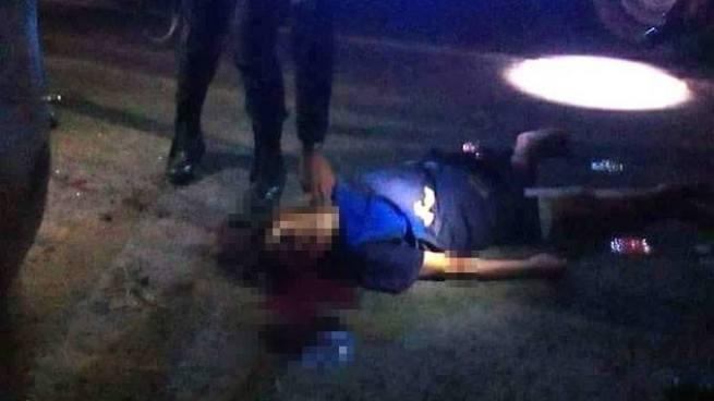 Mujer muere tras ser atropellada por un vehículo sobre carretera a Quezaltepeque