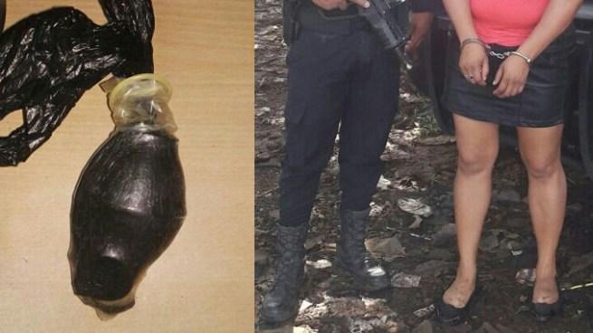 Capturan a mujer que intento ingresar entre sus partes íntimas una granada a un penal de Guatemala