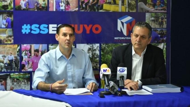 Muyshondt presenta a Zamora como miembro de su equipo de trabajo