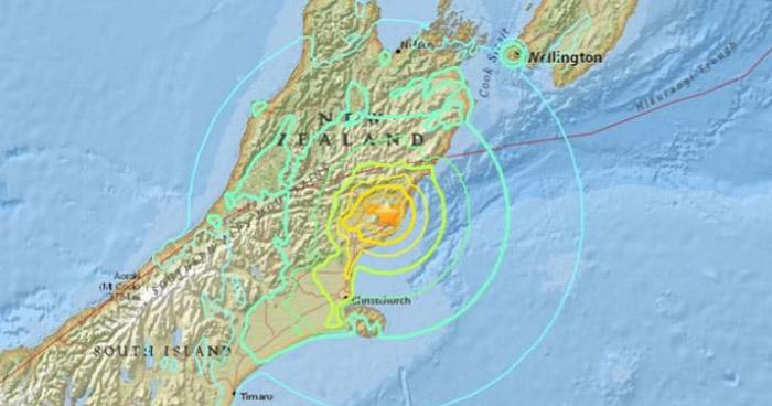 Alerta de tsunami en Nueva Zelanda tras terremoto de 7.4