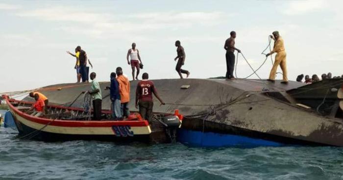 Más de 100 personas murieron ahogadas tras el naufragio de un ferry en Tanzania