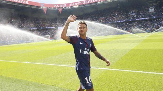 Neymar listo para debutar con el PSG