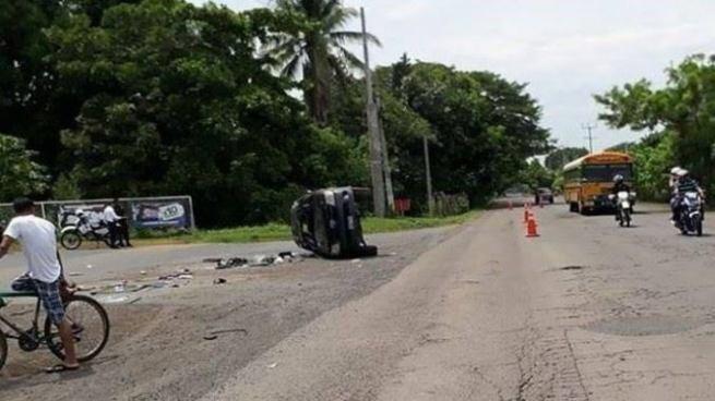 Accidente de tránsito en Sonsonate deja un menor de edad fallecido
