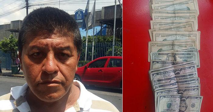 Cae sujeto que recogía el dinero de las extorsiones en el mercado central de San Salvador