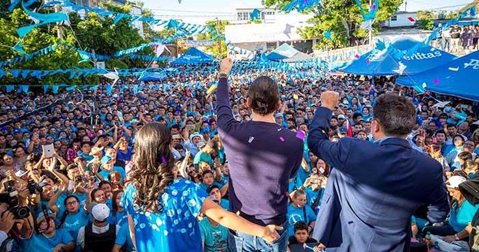 Si las elecciones fueran el próximo Domingo: Nuevas Ideas 40.6%, Arena 18.8% y el FMLN 8.6% según encuesta UFG