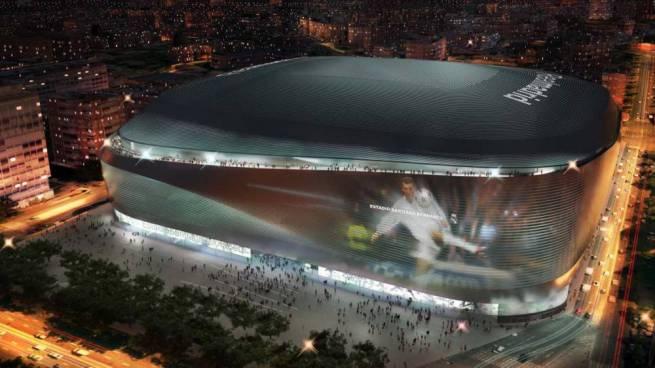 Comienzan las obras del nuevo Santiago Bernabéu
